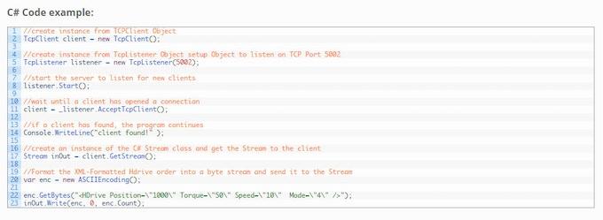 C# Code Example