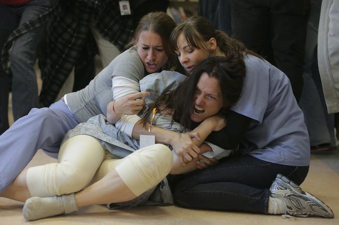 Deborah Rayne, Erin Darke and Catherine Eaton