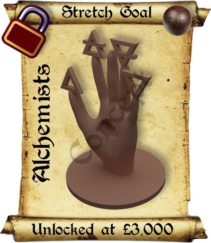 Alchemists Goal Post Concept