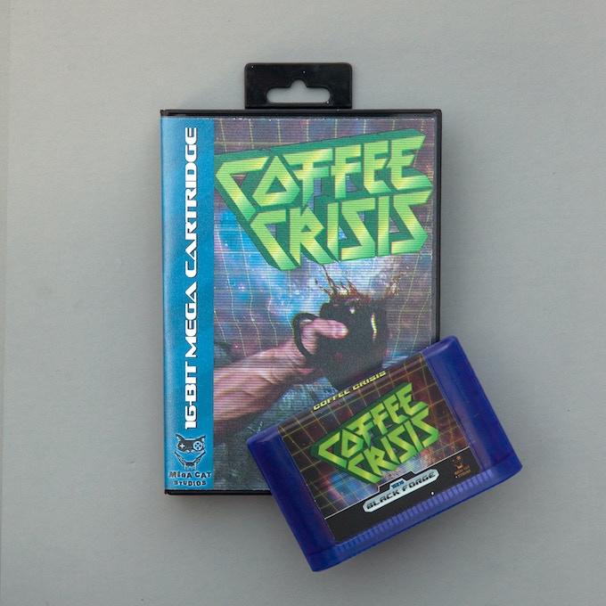 Coffee Crisis for the Sega Genesis - Metal, Aliens & Awesome by Mega ...