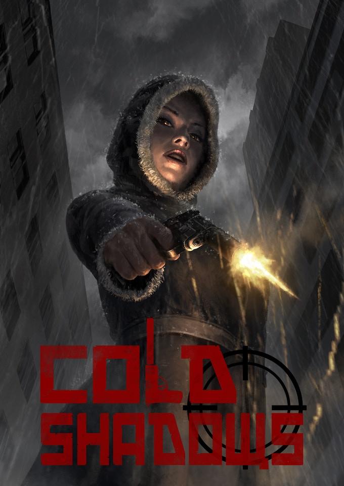 Cold Shadows Cover - Art by Shen Fei, Logo by Robert Denton