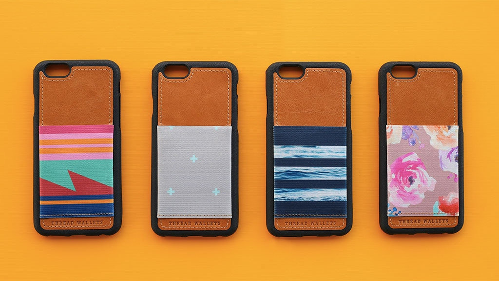 Thread Wallets | The Coolest Phone Case Wallet project video thumbnail