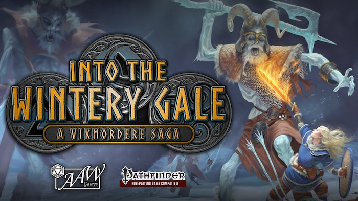 Into the Wintery Gale is a Viking themed adventure written by Justin Andrew Mason for the Pathfinder Roleplaying Game.