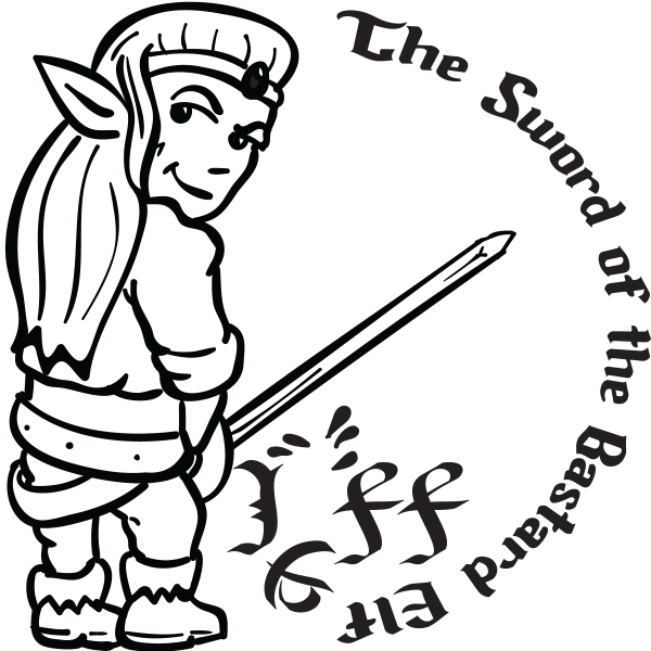 The Sword of the Bastard Elf - A Two-Fisted Fantasy Gamebook