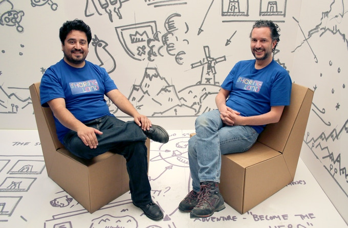 Ariel Rojo (left) & Luis Albarrán (right)