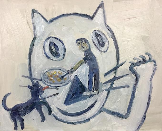 Conrad the Cat $200