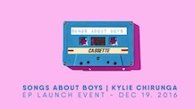Songs About Boys EP Launch