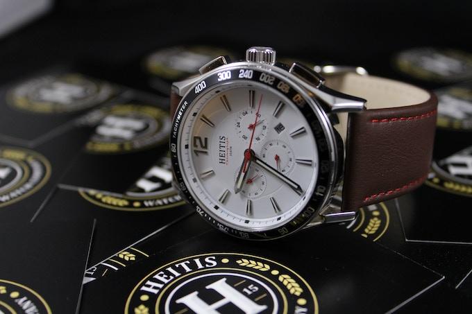 The HEITIS Chronograph White Dial