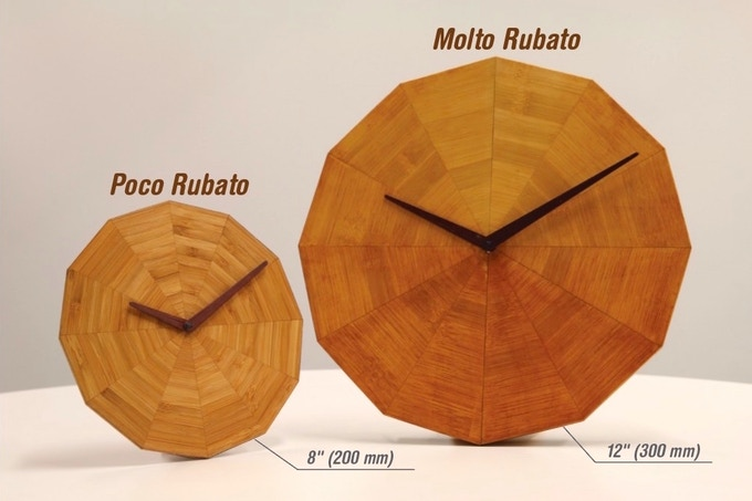 Meet the Rubato Clock Family