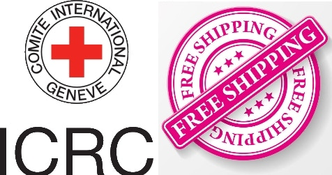 International Red CRoss Committee & FREE Shipping All Over The World !