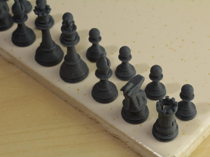 Chess set at 50μm (Small Accessory)