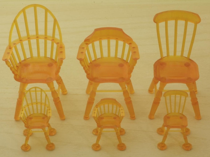 Windsor chairs at 50/37.5μm (Small Accessory)