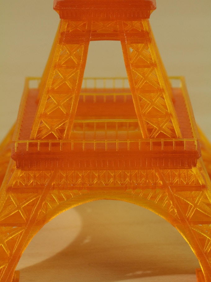 120mm Eiffel Tower at 50μm (Large Accessory)