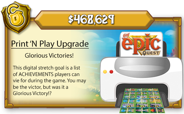 Glorious Victories are digital content for the Premium Print 'N Play. They will also be made available to all TEQ players on BGG