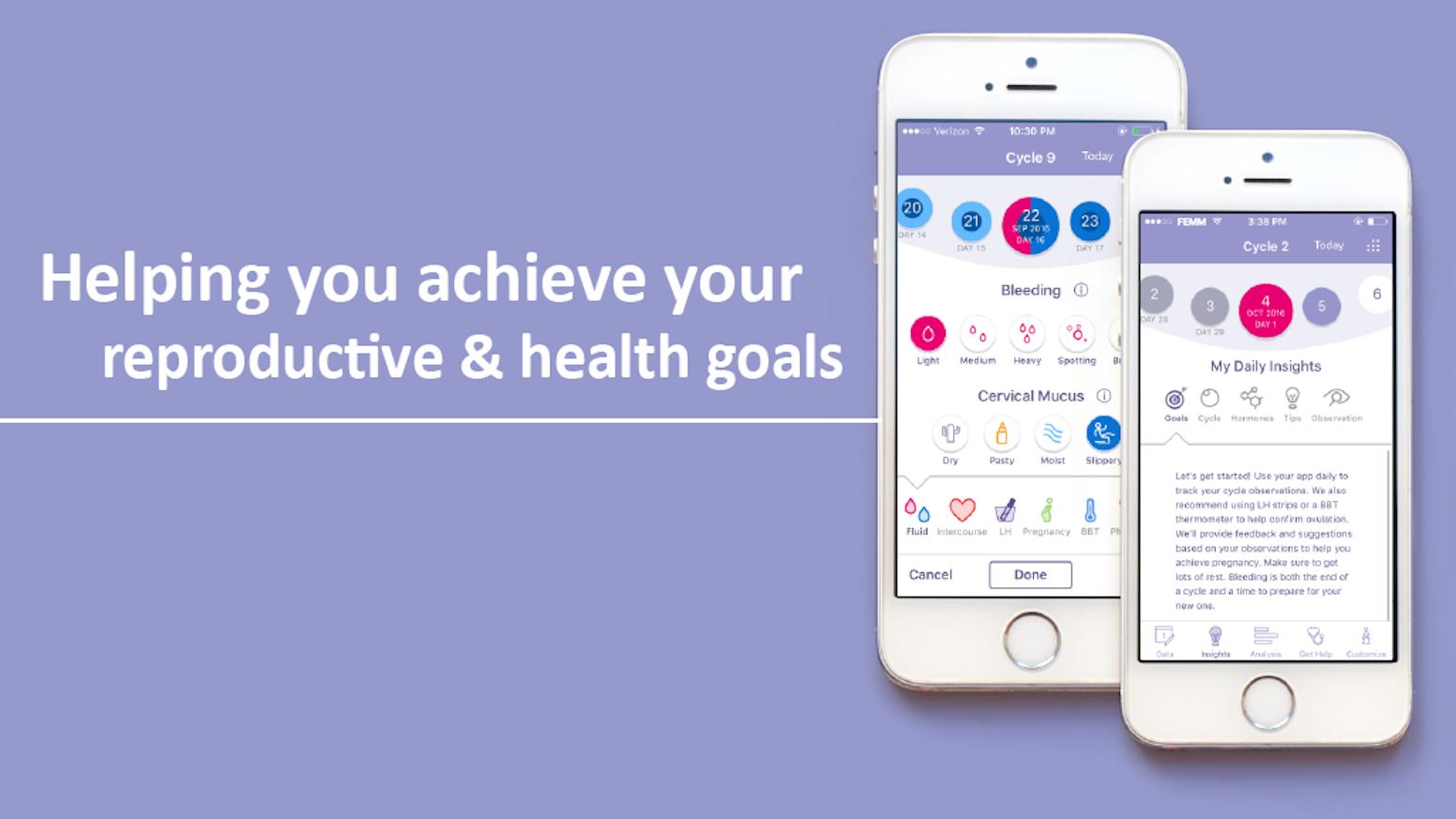 Android Help App femm women's health android appfemm — kickstarter