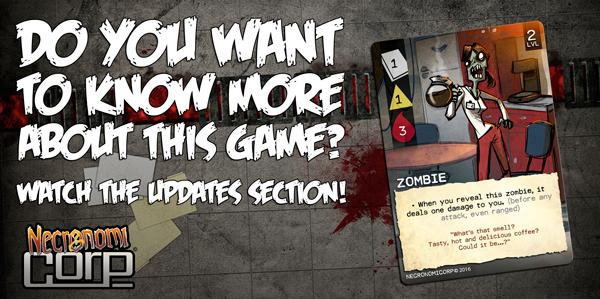 """Revisa la sección de """"updates"""" para saber más del juego."""