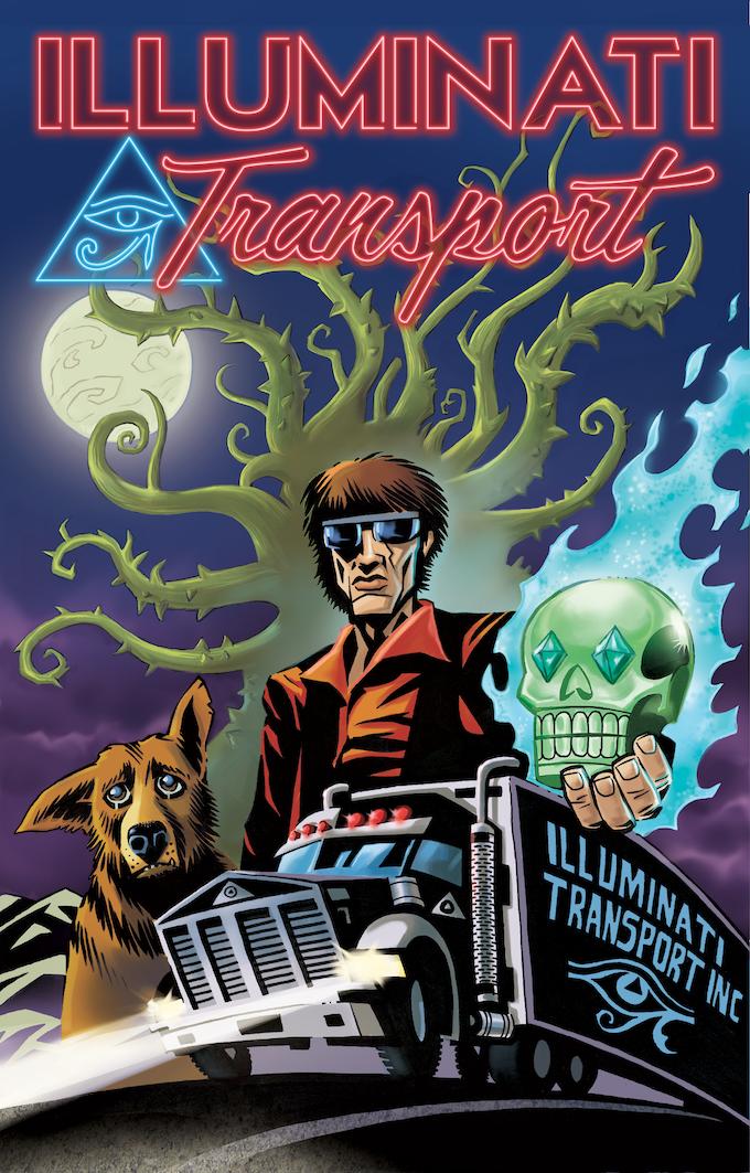 ILLUMINATI TRANSPORT Exclusive Kickstarter Edition