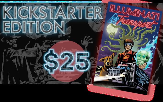 Kickstarter Exclusive ILLUMINATI TRANSPORT trade paperback