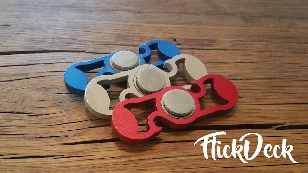 flickdeck fidget spinner and bottle opener by flickdeck kickstarter. Black Bedroom Furniture Sets. Home Design Ideas