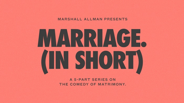 Watch the film. Fund the Series. Save Marriages.* (statement not approved by FDA)