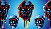 Consume - Stickers and Pins