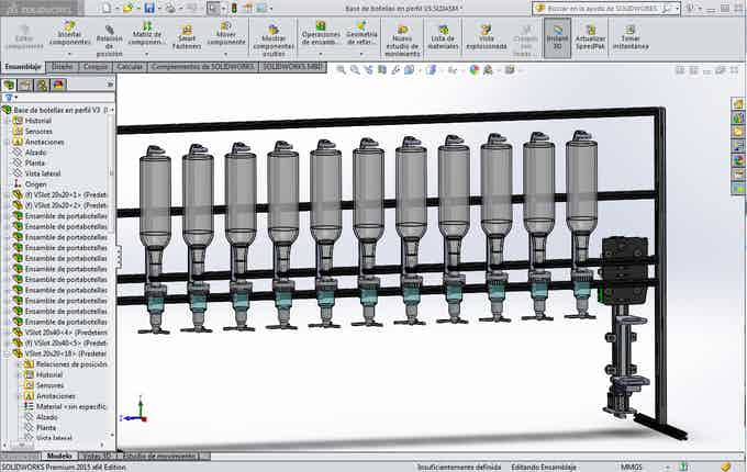 Diseño CAD de Barbot