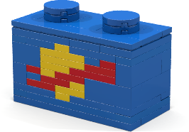 The Classic Space Dag Brick