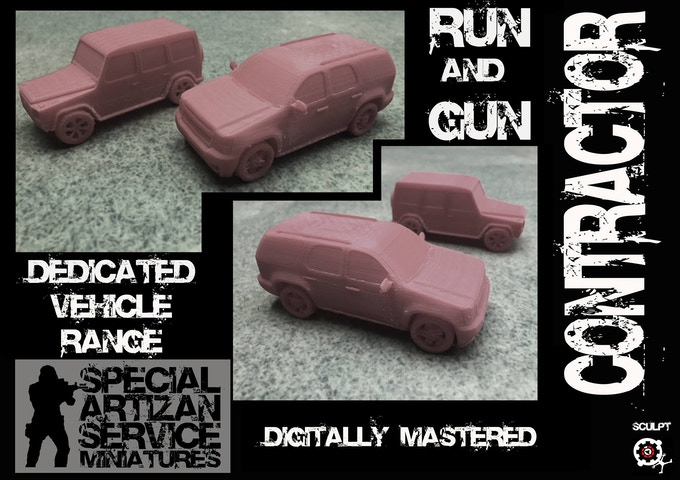 SUV's included in this Kickstarter