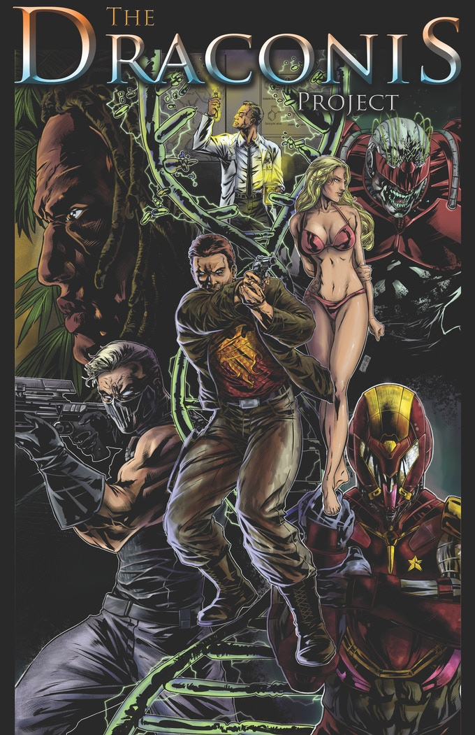 The Draconis Project 114 pg. Annual trade paperback.