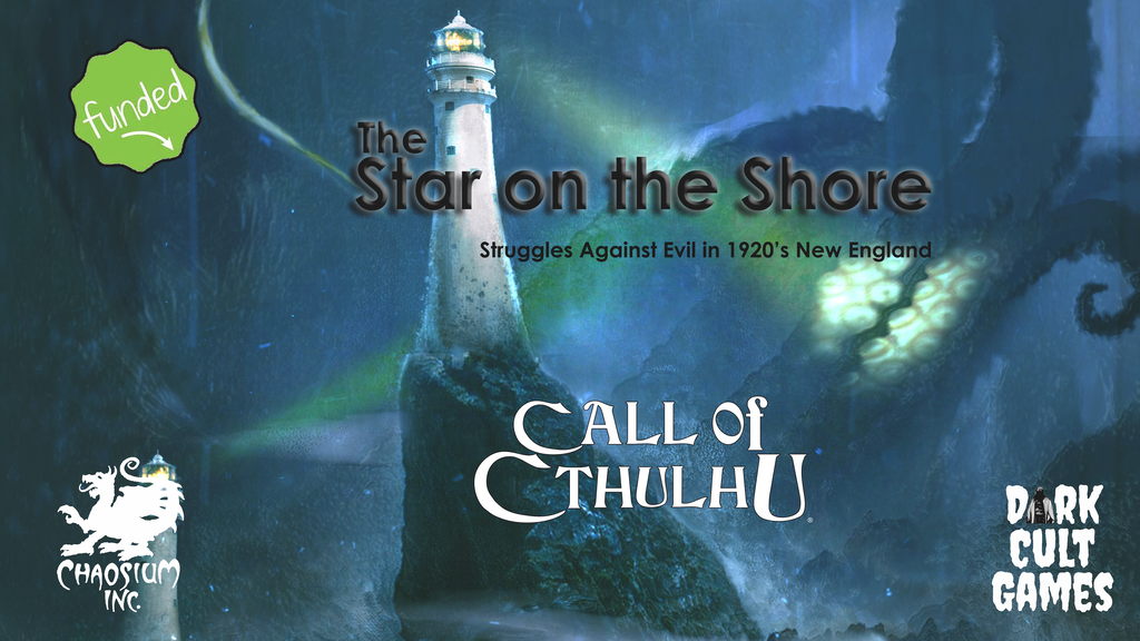 The Star on the Shore - A Call of Cthulhu RPG Module miniatura de video del proyecto