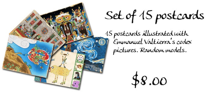 15 postcards for $8.00