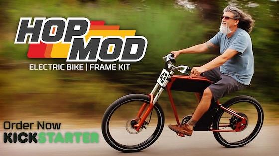 Track HopMod eBike | Frame Kit (Canceled)\'s Kickstarter campaign on ...