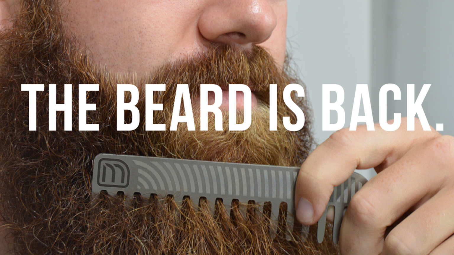 macco titanium beard combs take control of your beard by macco kickstarter. Black Bedroom Furniture Sets. Home Design Ideas