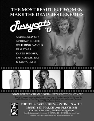 Pussycats #0 (Ad from PREVIEWS, January 2015)