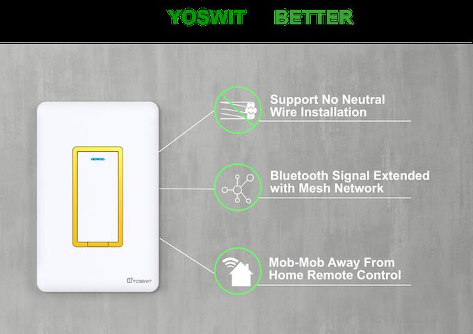 Yoswit: Reinvented Smart Wall Switch by Yoswit — Kickstarter