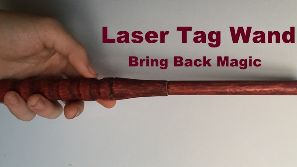 Project image for LaserWand Magic Game