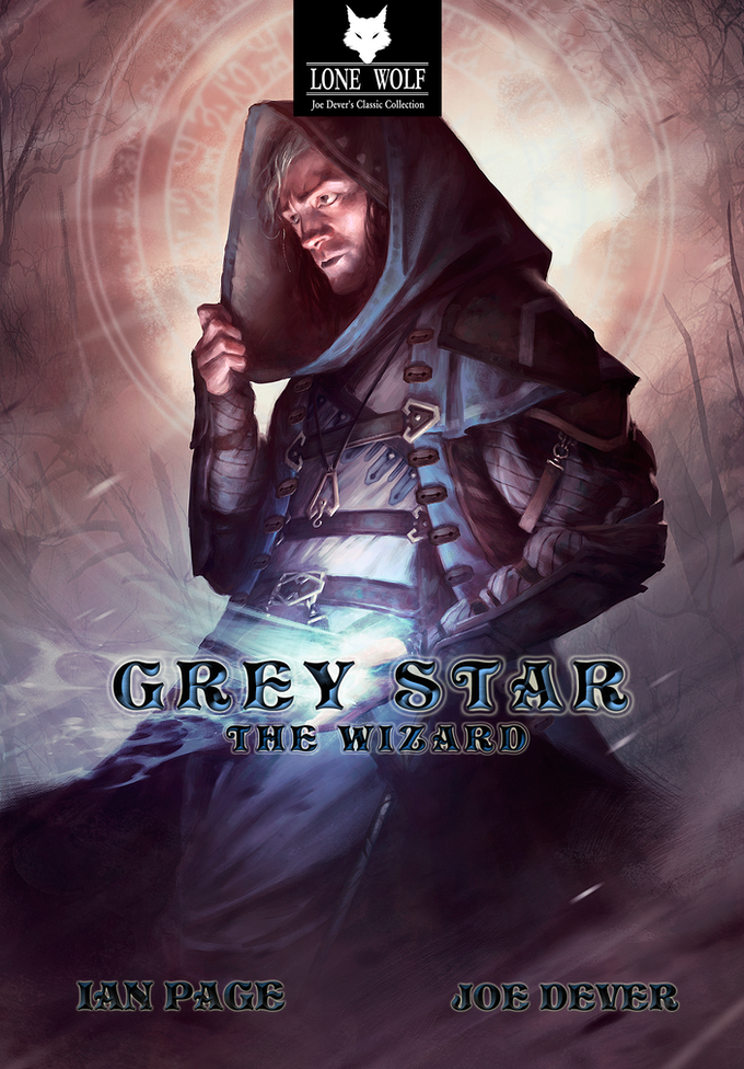 Alternate Grey Star the Wizard Collector's Edition cover by Pascal Quidault