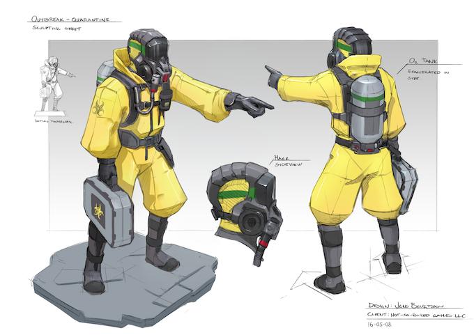 Quarantine Figure Design