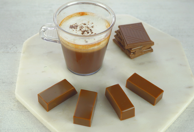 Hot Chocolate flavoured caramel. Mmm MM! What more do you need by the fireside on Christmas morning?