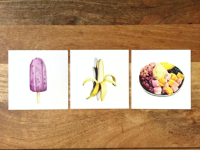 Dessert Print Set