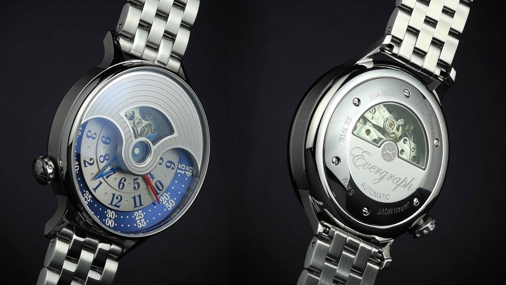 The Evergraph. A Classic yet Modern Automatic Watch by Xeric project video thumbnail