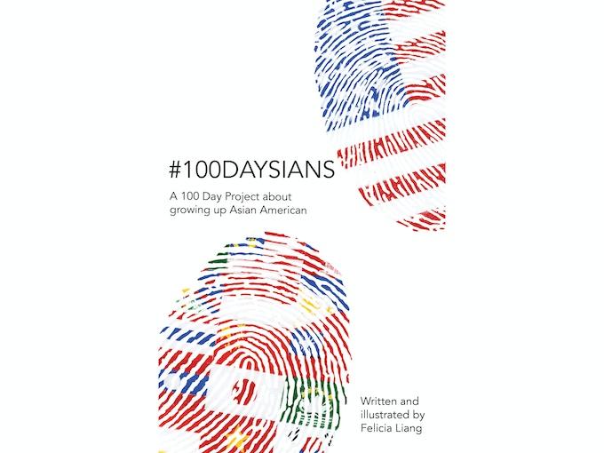 #100daysians cover design