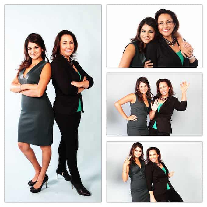 Dr. Amy Serin with Entrepreneur Vicki Mayo