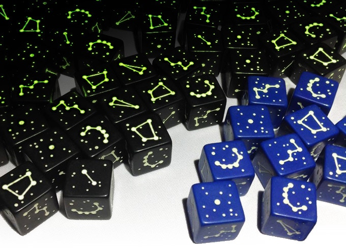 1st Edition Ptolemaic Constellation Dice (Northern Sky)