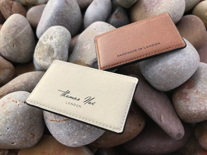 RFIDsecur cardholders cream and brown versions