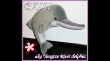 The baiji dolphin plush toy adoption project