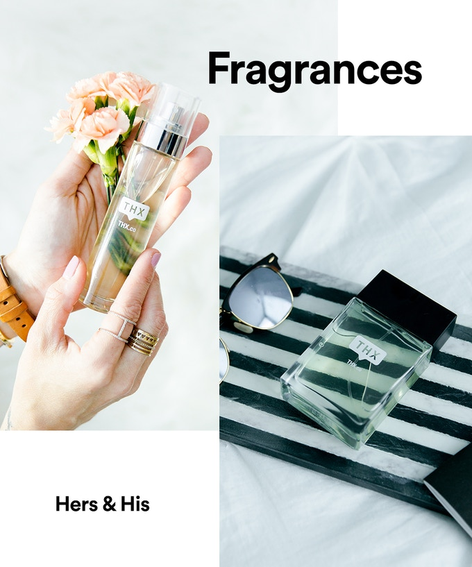 Original Thx Swiss Fragrances - Women's Eau de Parfum & Men's Eau de Toilette