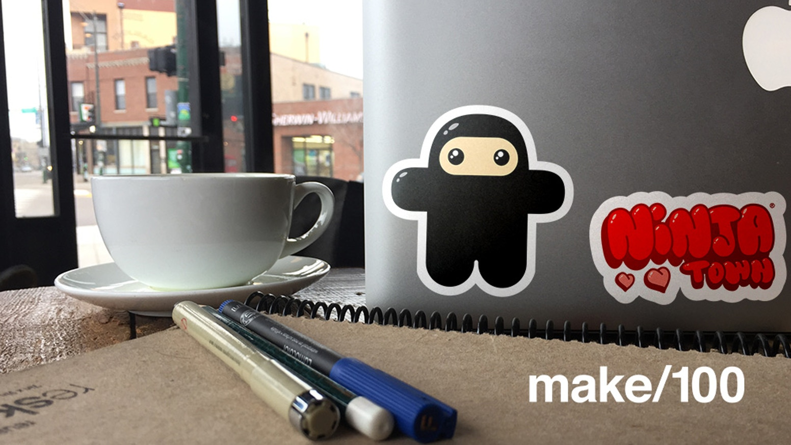 Stickers are awesome. So are ninjas. Now they are combined as a monthly sticker club to enhance YOUR awesomeness.