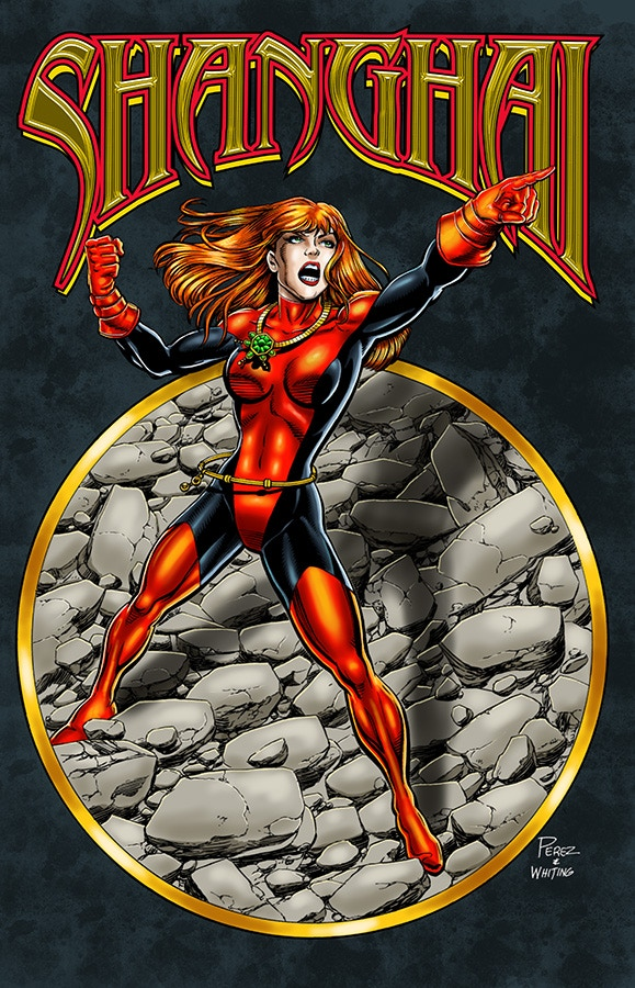 George Perez standard edition cover