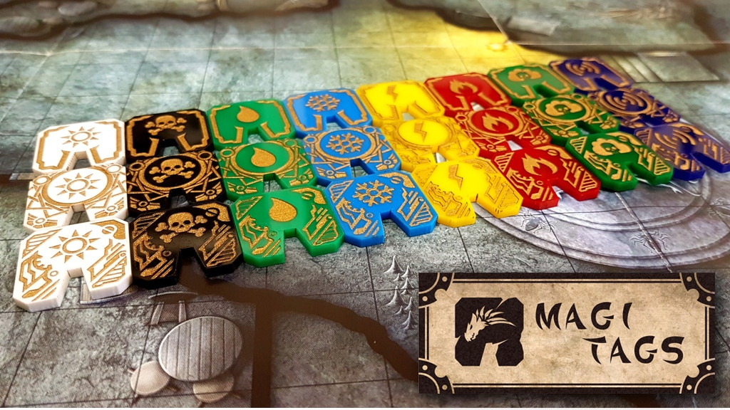 Update 2: Our First Week and First Stretch Goal Reveal · Magitags - Spell Effect Tokens for Tabletop RPGs